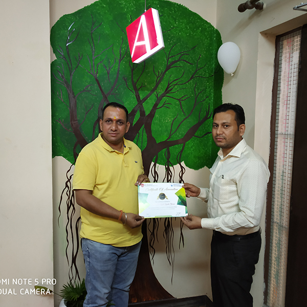Certification of Mr. Karamvir Singh